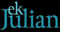E.K. Julian logo